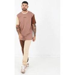 textil Herr T-shirts Sixth June T-shirt  Tricolor Regular beige