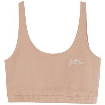 Underkläder Dam Bh Sixth June Brassière  Basic Signature beige