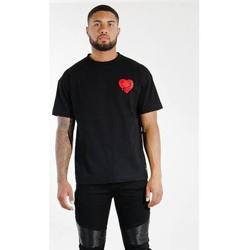 textil Herr T-shirts Sixth June T-shirt  Oversize noir