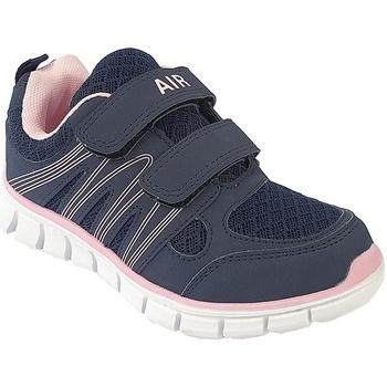 Skor Barn Sneakers Dek  Marinblått/blött rosa