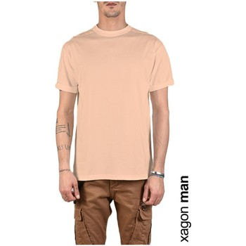 textil Herr T-shirts Xagon Man  Rosa