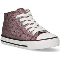 Skor Flickor Höga sneakers Bubble 58907 rosa