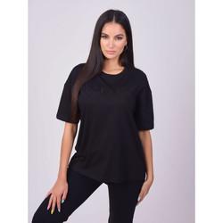 textil Dam T-shirts Project X Paris T-shirt femme basic noir