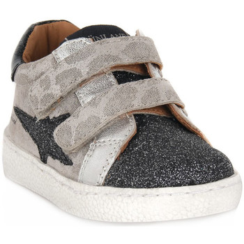 Skor Pojkar Sneakers Grunland ARGENTO 88NOON Grigio