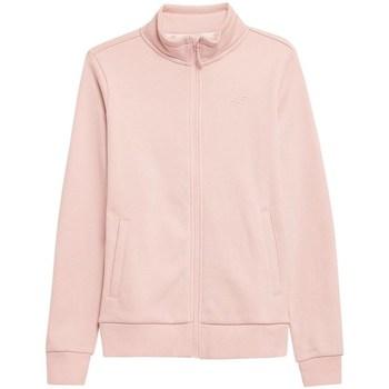 textil Dam Sweatshirts 4F BLD351 Rosa