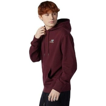 textil Sweatshirts New Balance Essentials Embroidered Lila