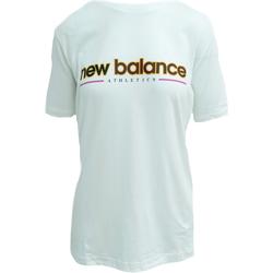 textil Linnen / Ärmlösa T-shirts New Balance Athletics Higher Learning Vit