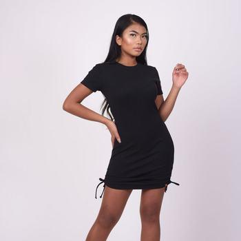 textil Dam Korta klänningar Project X Paris Robe femme noir