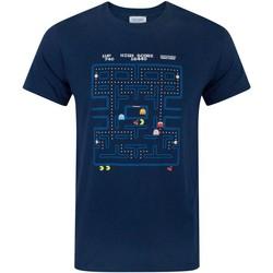 textil Herr T-shirts Pac Man  Blå