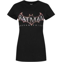 textil Dam T-shirts Dessins Animés  Svart
