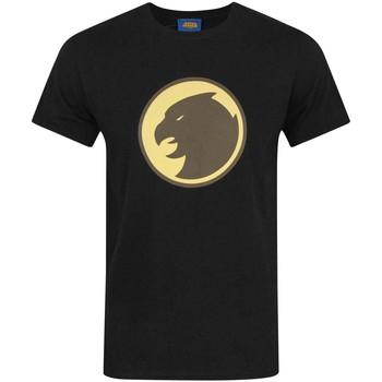 textil Herr T-shirts Hawkman  Svart