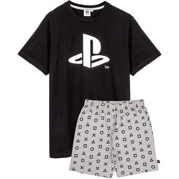 textil Herr Pyjamas/nattlinne Playstation  Svart/grå