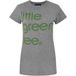 textil Dam T-shirts Junk Food  Grå marl