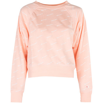 textil Dam Sweatshirts Champion  Rosa