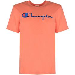 textil Herr T-shirts Champion  Rosa