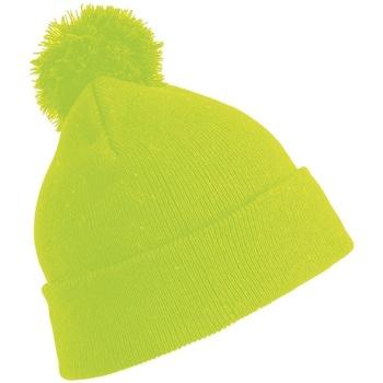 Accessoarer Mössor Result Winter Essentials RC028 Fluorescerande gult