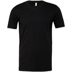 textil T-shirts Bella + Canvas CVC3001 Svart ljung