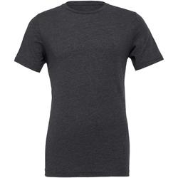 textil T-shirts Bella + Canvas CVC3001 Mörkgrått ljummet