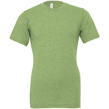 textil T-shirts Bella + Canvas CVC3001 Heather Green