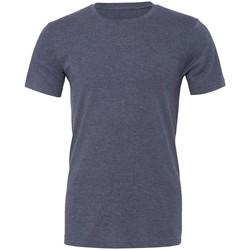 textil T-shirts Bella + Canvas CVC3001 Marinblått