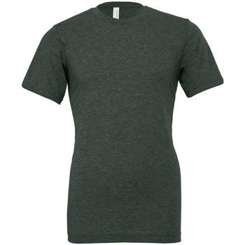 textil T-shirts Bella + Canvas CVC3001 Heather Forest Green