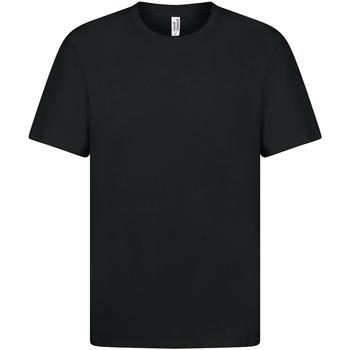 textil Dam T-shirts Casual Classics  Svart