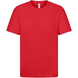 textil Dam T-shirts Casual Classics  Röd