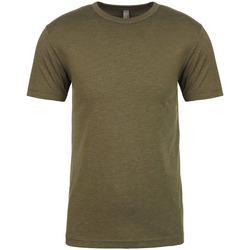 textil Herr T-shirts Next Level NX6010 Militärt grönt