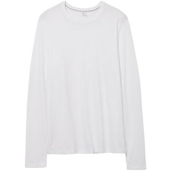 textil Långärmade T-shirts Alternative Apparel AT014 Vit