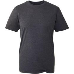 textil Herr T-shirts Anthem AM010 Mörkgrå marl