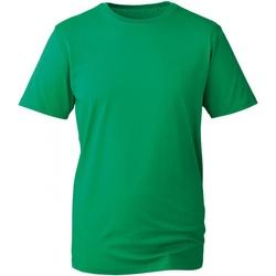 textil Herr T-shirts Anthem AM010 Kelly Green
