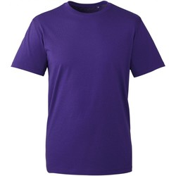 textil Herr T-shirts Anthem AM010 Lila