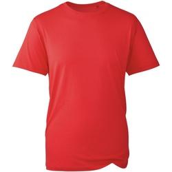 textil Herr T-shirts Anthem AM010 Röd