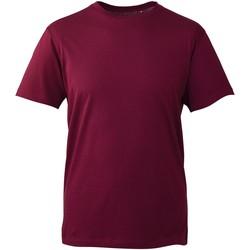 textil Herr T-shirts Anthem AM010 Bourgogne