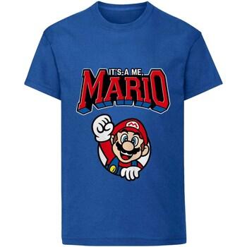 textil Barn T-shirts Super Mario  Blå