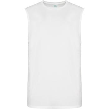 textil Herr Linnen / Ärmlösa T-shirts Awdis JC022 Arctic White