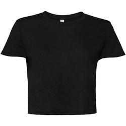 textil Dam T-shirts Bella + Canvas BE8882 Svart