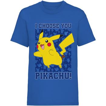 textil Barn T-shirts Pokemon  Blå