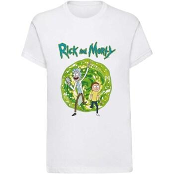textil T-shirts Rick And Morty  Vit