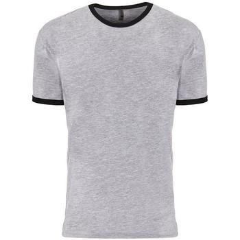 textil T-shirts Next Level NX3604 Grått/svart