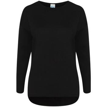 textil Dam Sweatshirts Comfy Co CC065 Svart