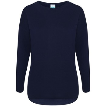 textil Dam Sweatshirts Comfy Co CC065 Marinblått