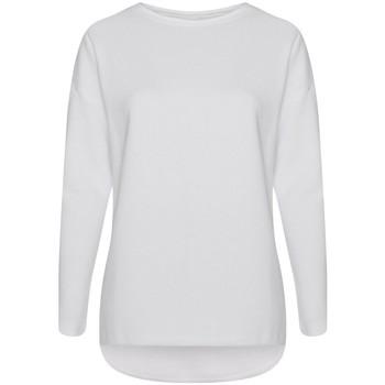 textil Dam Sweatshirts Comfy Co CC065 Vit