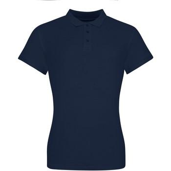 textil Dam Kortärmade pikétröjor Awdis JP10F Oxford Navy