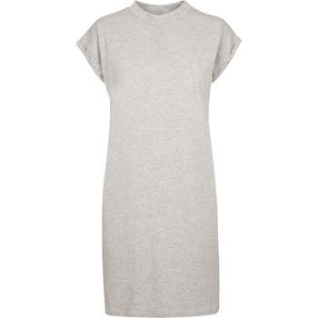 textil Dam Korta klänningar Build Your Brand BY101 Grått ljung