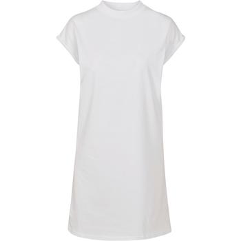 textil Dam Korta klänningar Build Your Brand BY101 Vit