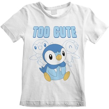 textil Barn T-shirts Pokemon  Vit