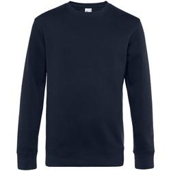 textil Herr Sweatshirts B&c WU01K Marinblått