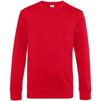 textil Herr Sweatshirts B&c WU01K Röd