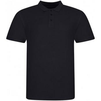textil Herr Kortärmade pikétröjor Awdis JP100 Djupt svart
